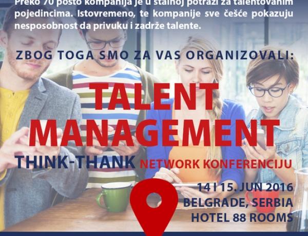 Talent management konferencija