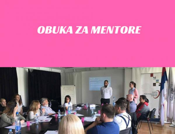Održana obuka za mentore