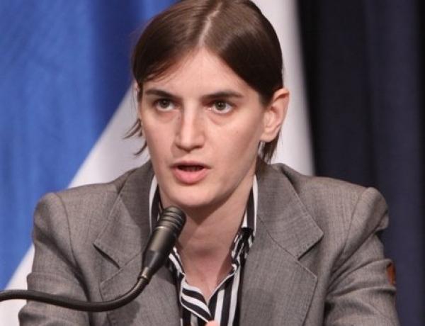 Premijerka podržava stav Unije poslodavaca Srbije