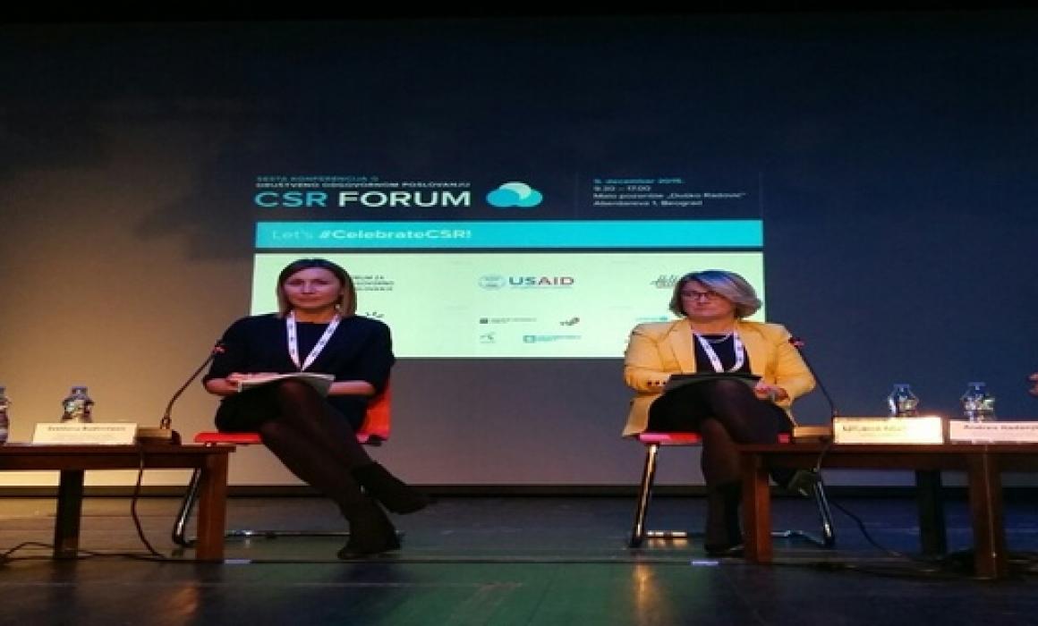 UPS na CSR Forumu