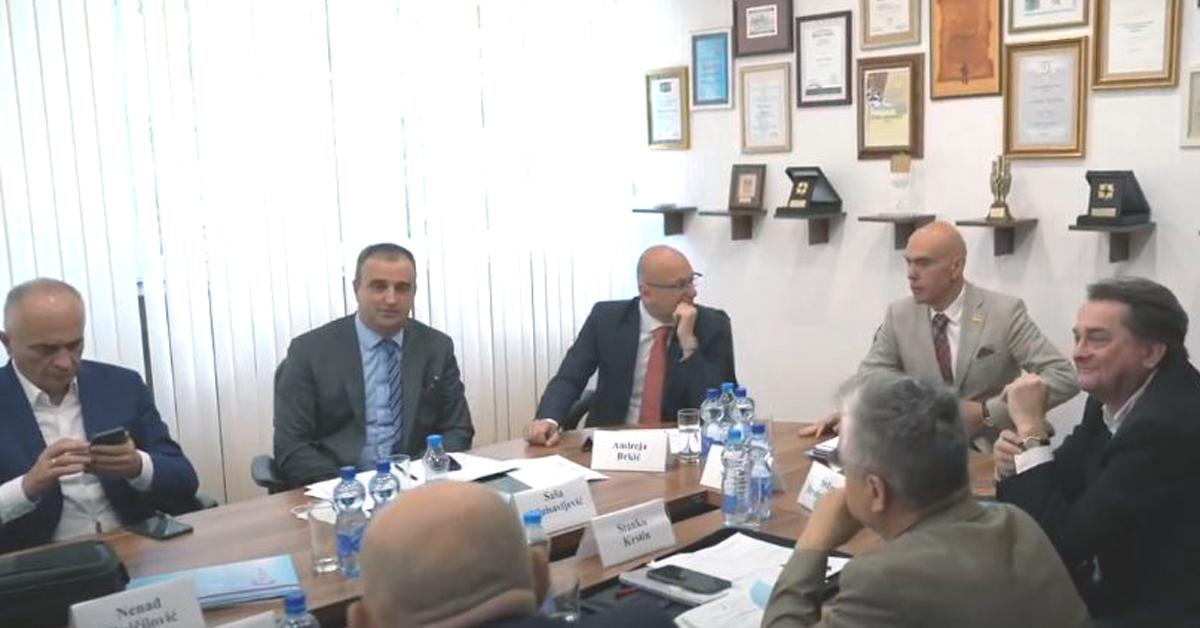 11 Sednica Predsedništva Unije poslodavaca Srbije - Kruševac - Miloš Nenezić predsednik