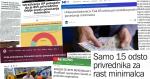 Mediji o Uniji poslodavaca Srbije - početak avgusta