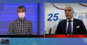 Miloš Nenezić predsednik Unija poslodavaca Srbije RTS Oko magazin - 02-12-2020