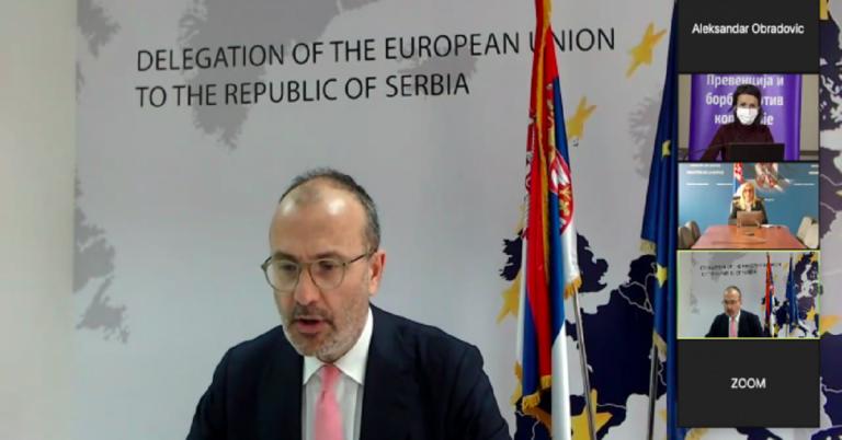 Sastanak socijalnih partnera sa predstavnicima Evropske komisije i Evropske unije