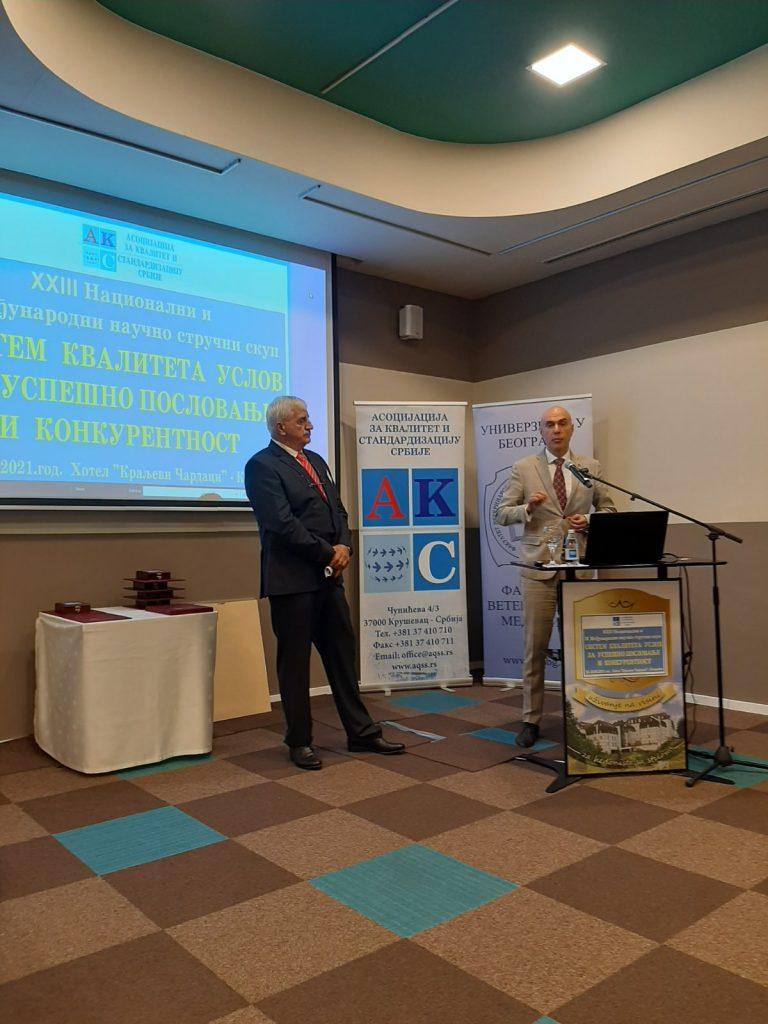 23. nacionalni i 9. međunarodni naučno stručni skup Sistem kvaliteta uslov za uspešno poslovanje i konkurentnost