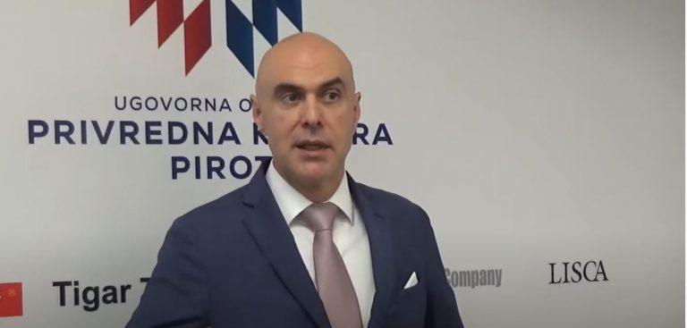 Miloš Nenezić prisustvovao sednici Socijalno-ekonomskog saveta Pirota